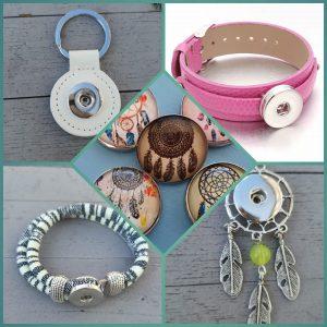 Drukknoop sieraden ( items )